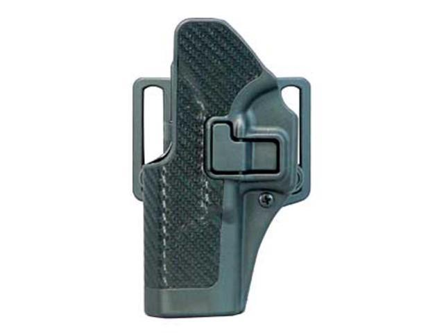 BlackHawk CQC SERPA Beltloop/Paddle Holster, Left Hand, Carbon Black - For Glock