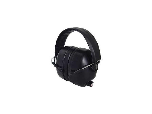 Radians 430-EHP Electronic Earmuff Black Frame Shooting Ear Protection NRR 26