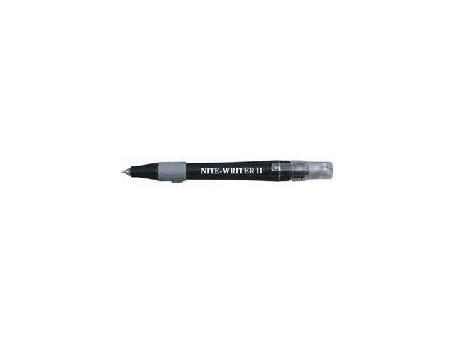 EMI 244 Black Economical Nite-Writer II Pen With Light & Push Button Top