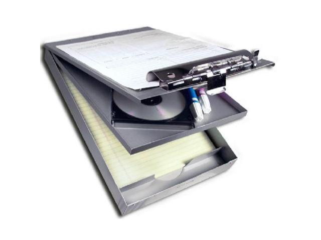 Saunders 21017 Silver Recycled Aluminum Letter Size Top Opening Cruiser Mate