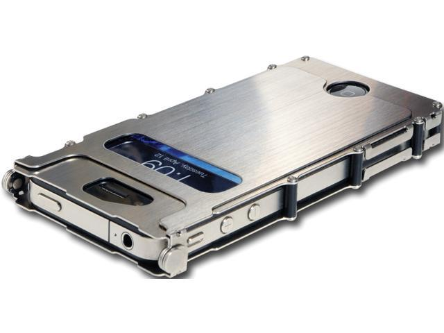 CRKT CRCRINOX4S Inoxcase For Iphone 4. Brushed Stainless Steel Casing & Hardw
