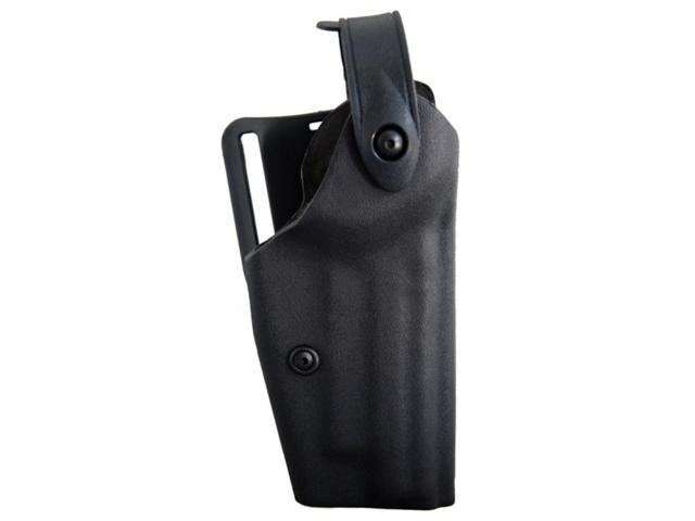 Safariland 6280 Level II Retention, Mid-Ride Holster - STX TAC Black, Right Hand