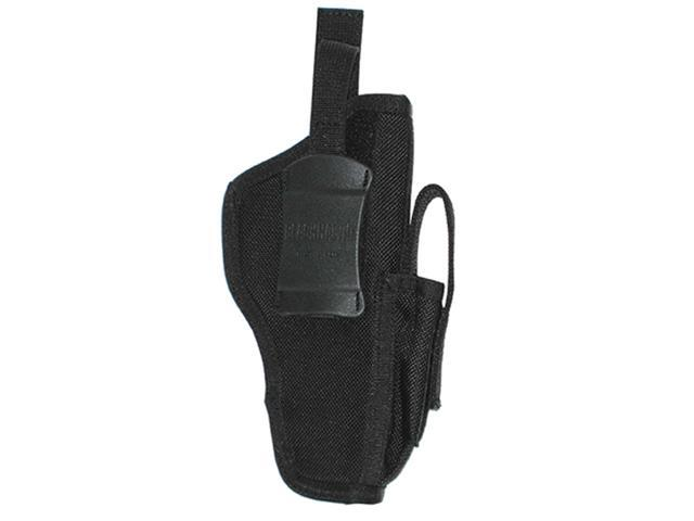 Blackhawk 40AM05BK Ambidextrous Holster W/ Magazine 3.75-4.50 Inch Barrel Black
