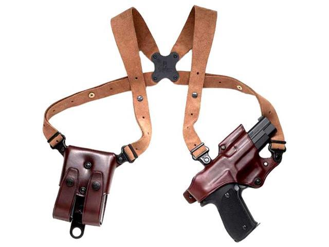 Galco JR248H Havana Right Hand Jackass Rig Shoulder Holster Browning BDA .45