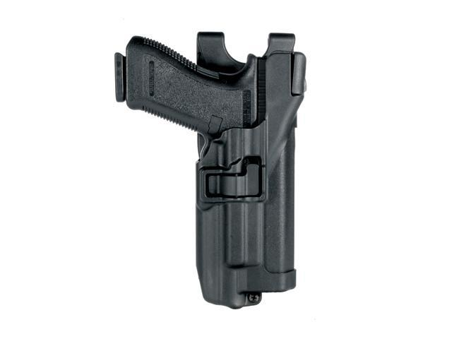 BLACKHAWK 44H506BK-R Xiphos Duty Holster,Right,Sig 225/226