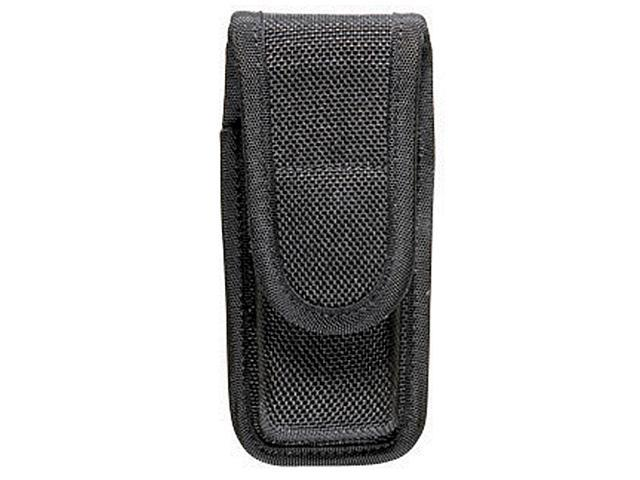 Bianchi 7303 AccuMold Single Mag/Knife Pouch - Black, Hidden 18200