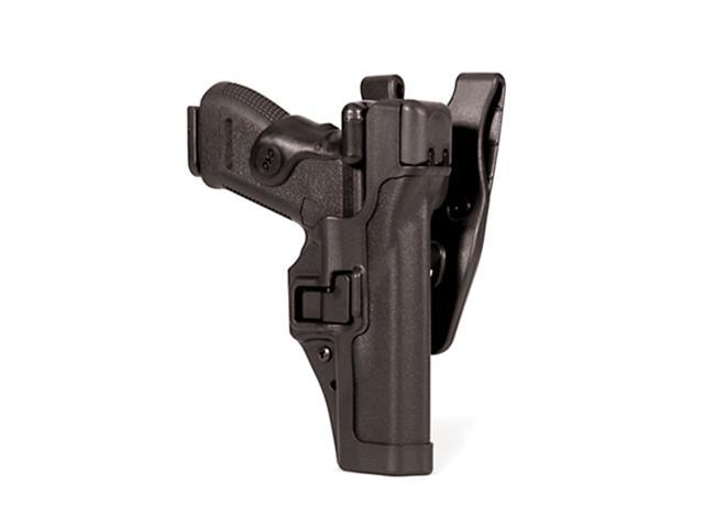 BLACKHAWK 44H106BW-L Serpa Duty Holster,Left,Sig 220/225
