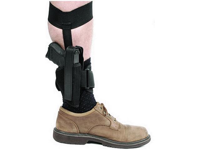 BlackHawk Ankle Holster Size 12 Black Left Hand 40AH12BK-L