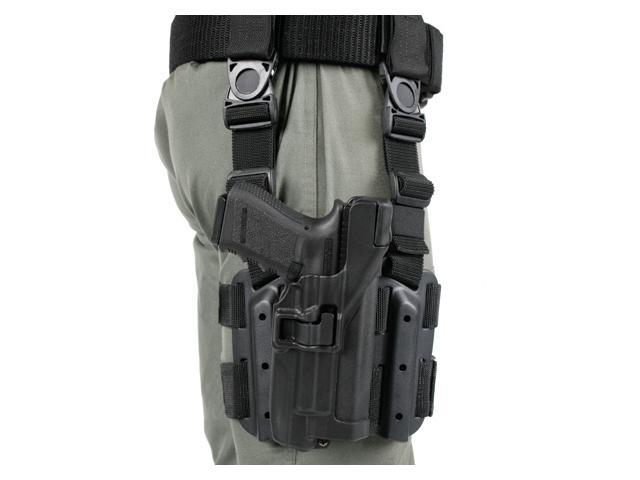 Blackhawk Serpa Tactical Level 3 Holster for Xiphos, Color - Black, Size - Glock