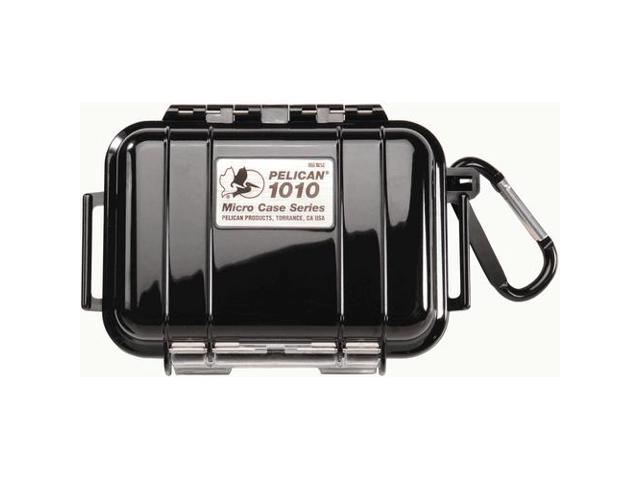 "Pelican 1010-025-110 1010 Black Micro Case W/Black Liner 4.31""x2.81""x1.62"""