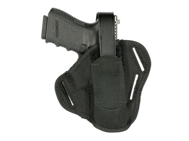 BlackHawk Nylon 3-Slot Pancake Holster-3-4in Barrel Med Auto 40PC01BK