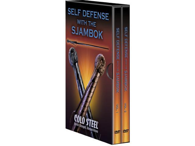 Cold Steel CSCSVDFSK Dvd Self Defense W/ Sjambok Lynn Thompson President Of Cold