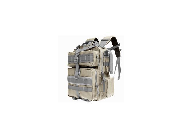 "Maxpedition Typhoon Backpack Khaki & Foliage Green Soft 13""x9.5""x4.5""  0529KF"
