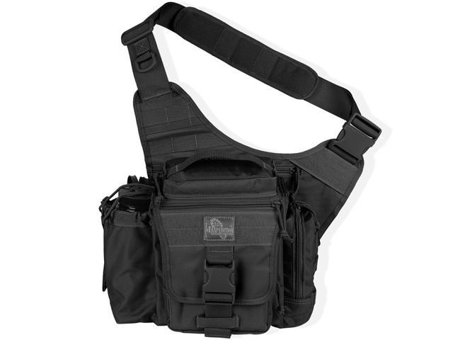 Maxpedition 9845B Every Day Carry Versipack - Black 800-Denier Nylon