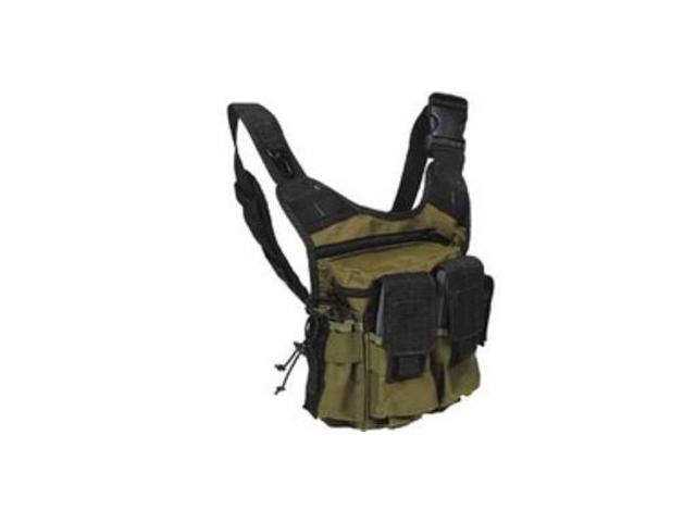 US PeaceKeeper Rapid Deployment Pack - OD Green/ Black P20305 Backpack