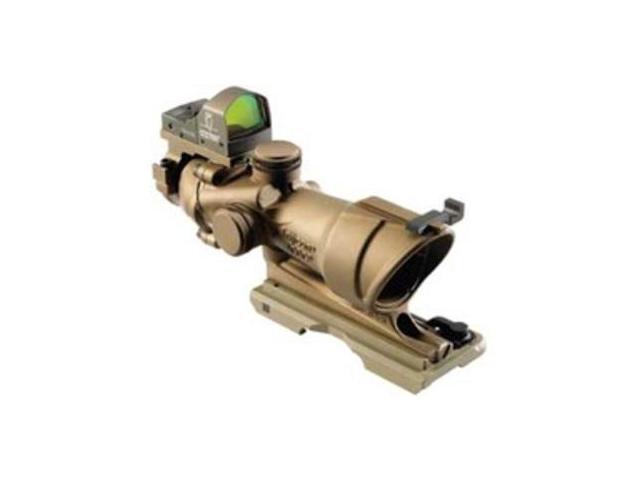 Trijicon ACOG TA31ECOS 4x32 Red Reticle Dark Earth Riflescope w/ 3.25 RM01