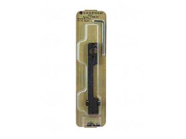 Leupold Standard 1 Piece Base Matte Savage 10 RH SA Rnd LP55724 030317557249