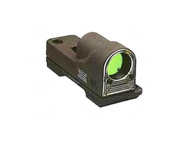 Trijicon RX06-23 Reflex 12.5 MOA Amber Dot Sight with A.R.M.S. #15 Throw Lever M