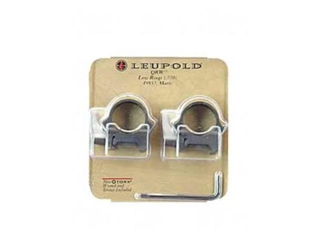 """Leupold QRW Scope Ring 1"""" Low Matte LP49853 030317498535"""