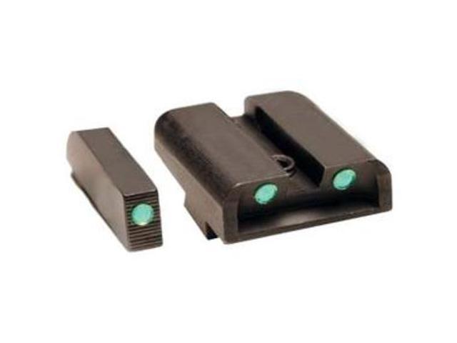 Truglo Brite-Site Tritium Gun Sight High For Glock 20 21 29 30 31 32 Green 231G2