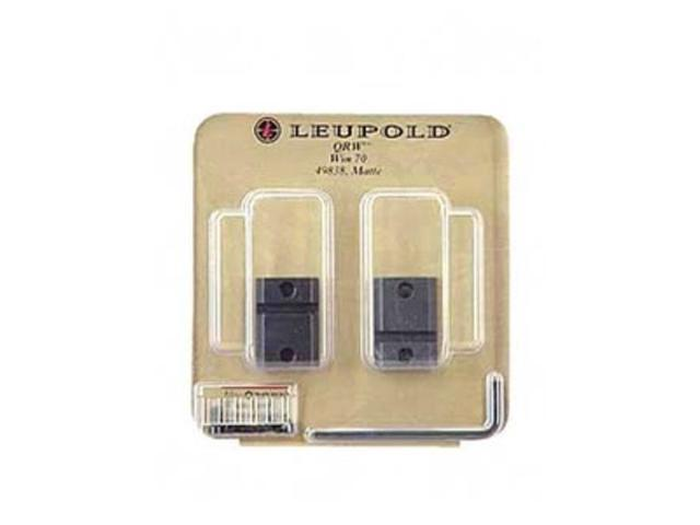 Leupold Quick Release Weaver Style Two-Piece QRW Bases