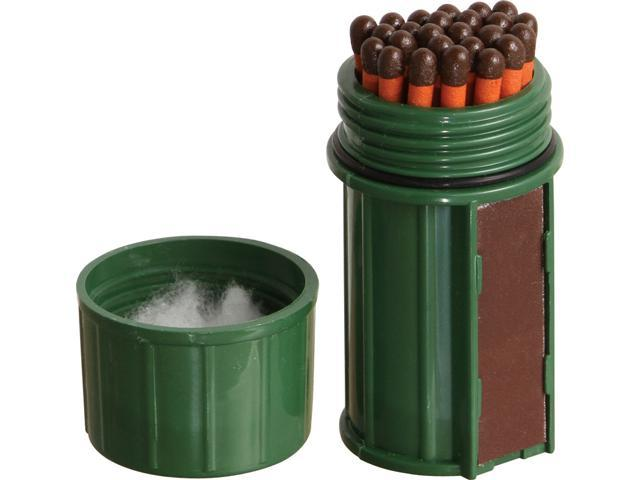 Match Container w/25 Matches Green - MT-SM-CONT-DG