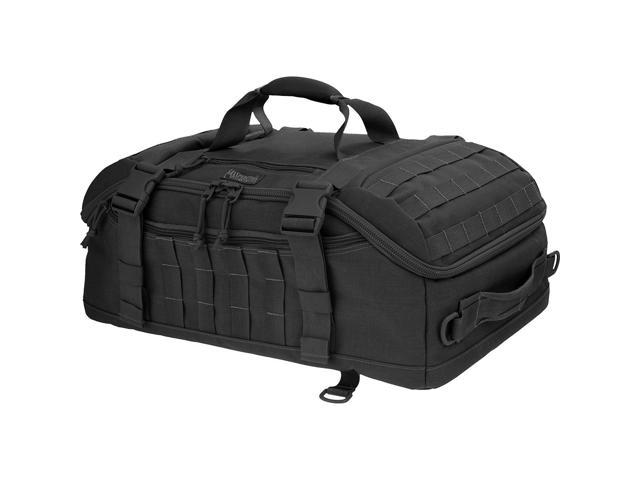 Maxpedition 0613B PALS Soft Nylon Black Fliegerduffel Adventure Bag 22 X 14 X 9