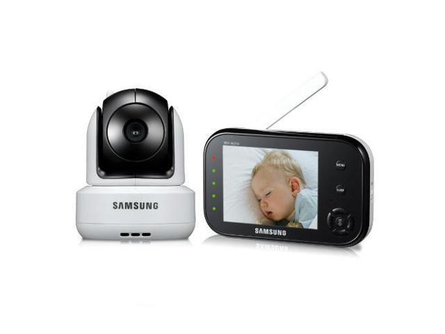 samsung sew 3037w safeview baby monitoring system large 3 5 lcd monitor screen remote. Black Bedroom Furniture Sets. Home Design Ideas