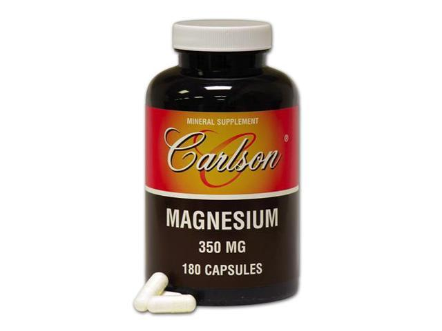 Magnesium 350mg - Carlson Laboratories - 180 - Capsule