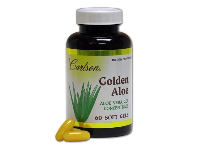 Golden Aloe 100mg - Carlson Laboratories - 60 - Softgel