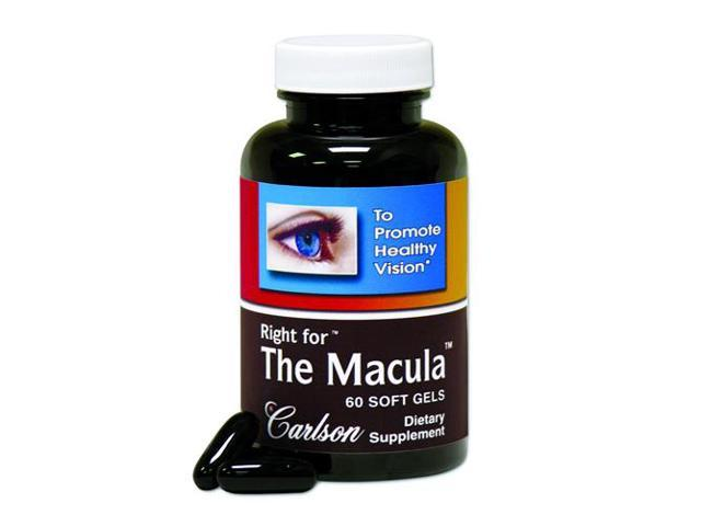 Right For The Macula - Carlson Laboratories - 60 - Softgel