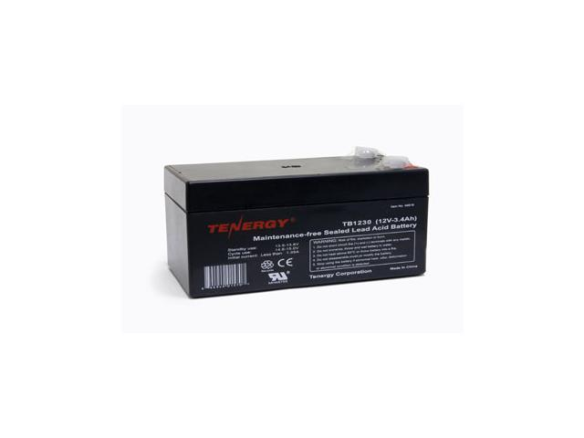 Tenergy 12V 3.4AH (TB1230) Maintenance-free Sealed Lead-acid (SLA) Battery