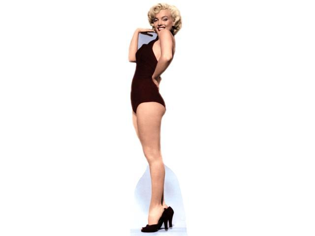 Marilyn Monroe Bathing Suit-Lifesized Standup