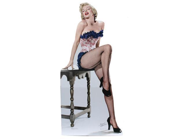 Marilyn Monroe Net Stockings-Lifesized Standup