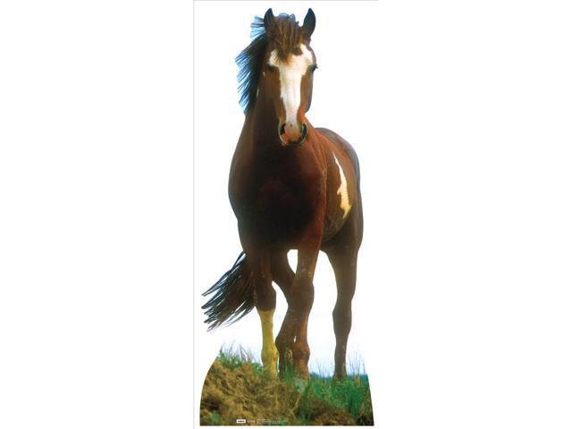 Mustang Horse Lifesized Standup