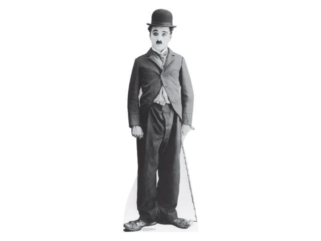 Charlie Chaplin-Little Tramp Lifesized Standup