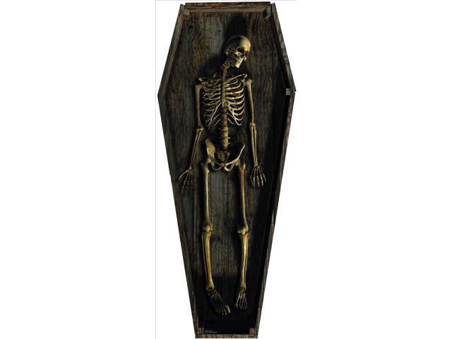 Skeleton Casket Lifesized Standup