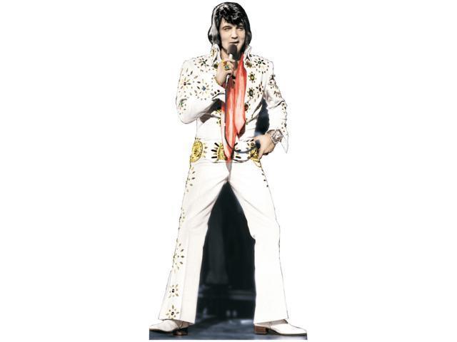 Elvis Presley-White Jumpsuit Lifesized Standup