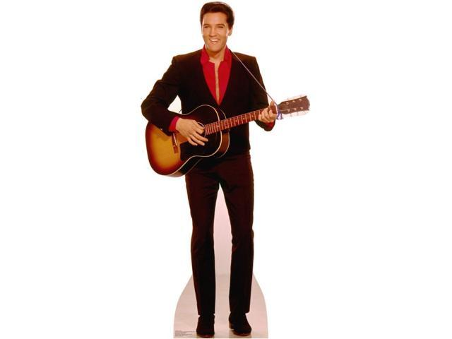 Elvis With Guitar Lifesized Standup