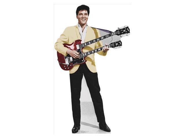 Elvis Yellow Jacket Lifesized Standup