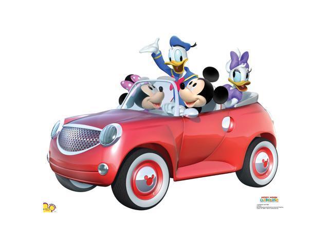 Mickey Car Ride Lifesized Standup