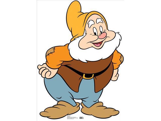 Seven Dwarfs Happy-Lifesized Standup