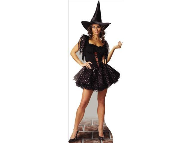 Glitter Witch Lifesized Standup