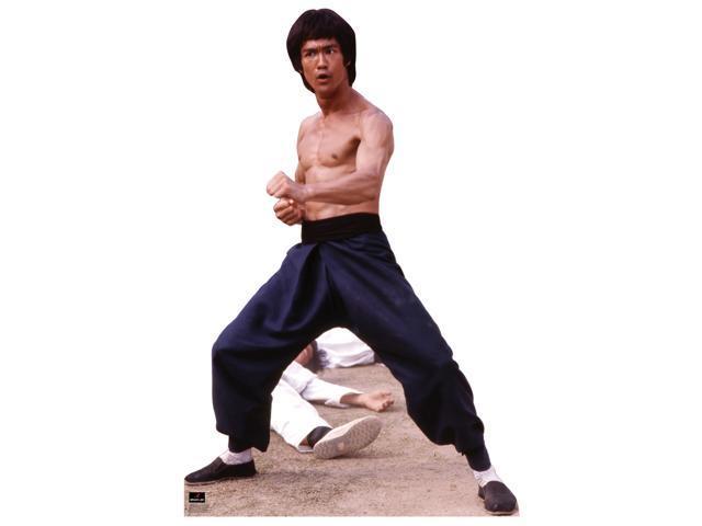 Bruce Lee-Fight Stance Lifesized Standup