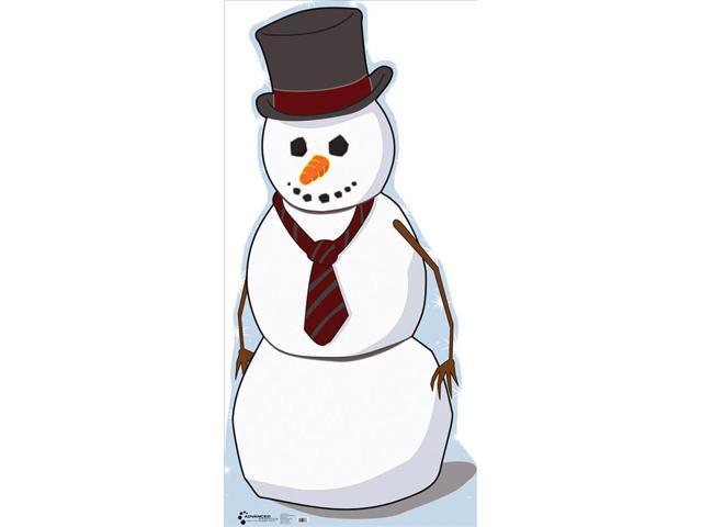 Snowman Lifesized Standup