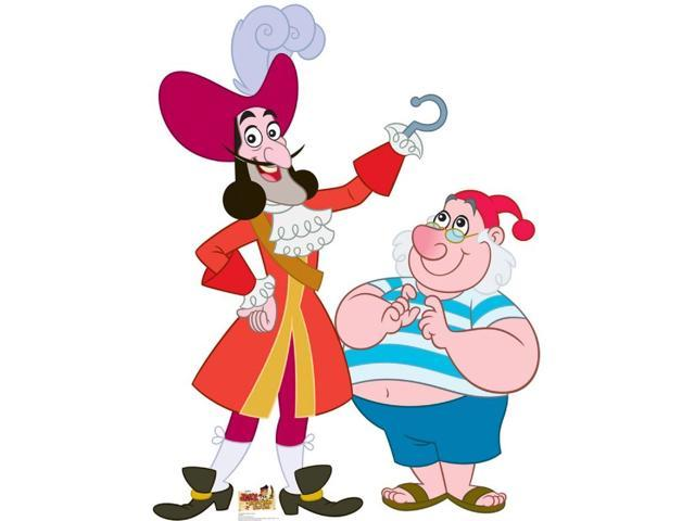 Captain Hook And Mr. Smee Lifesized-Standup