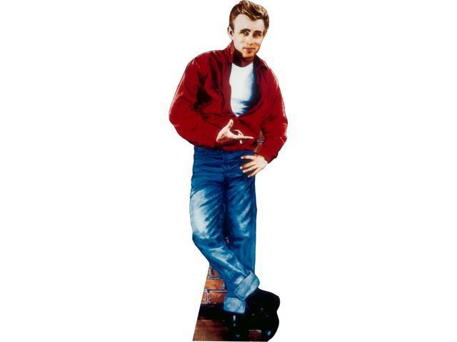 James Dean Red Jacket Lifesized Standup