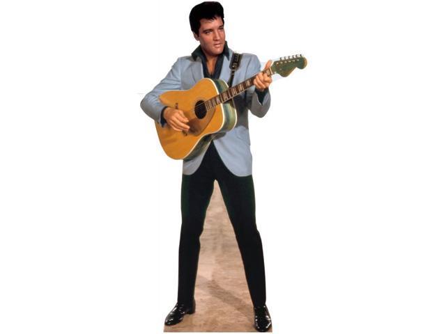 Light Blue Jacket Elvis Lifesized Standup