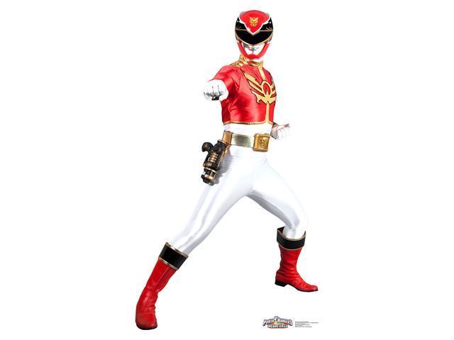 Power Rangers Megaforce Red Ranger Standup