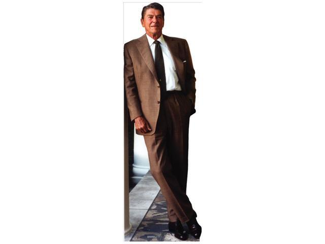 President Ronald Reagan Leaning Lifesized Standup